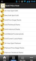 Screenshot of Gold Price Now Free