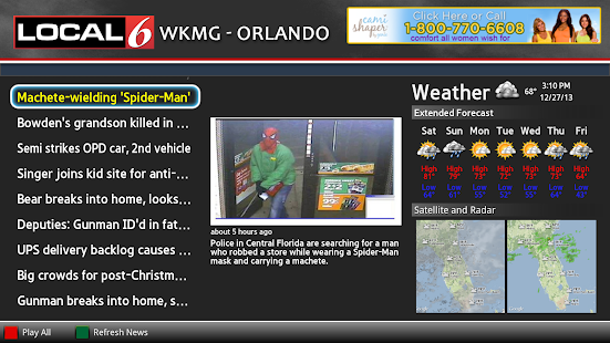 WKMG News Google TV - screenshot thumbnail