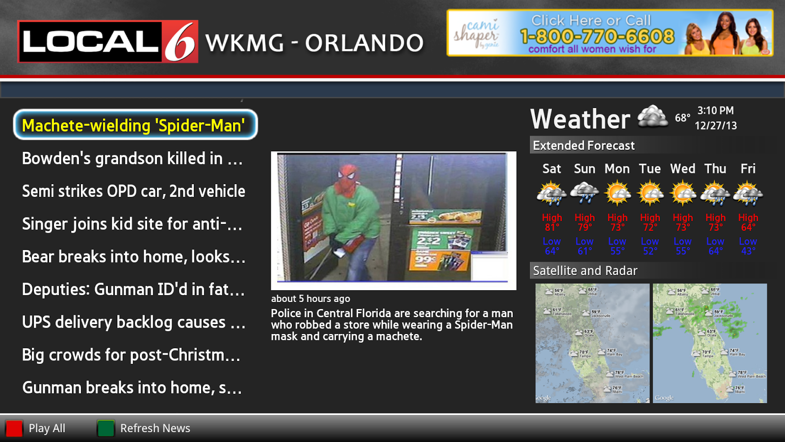 WKMG News Google TV - screenshot