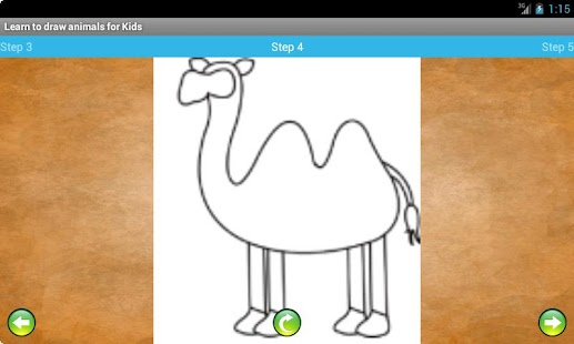 Learn to draw animals for Kids - screenshot thumbnail