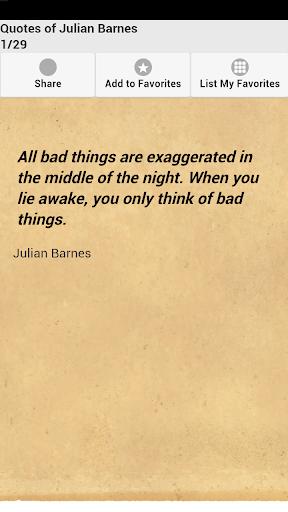 Quotes of Julian Barnes