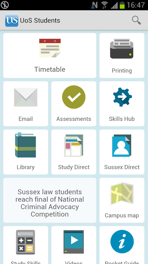 SussexMobile - screenshot