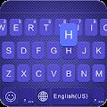 Free Blueribbon Keyboard Theme APK for Windows 8