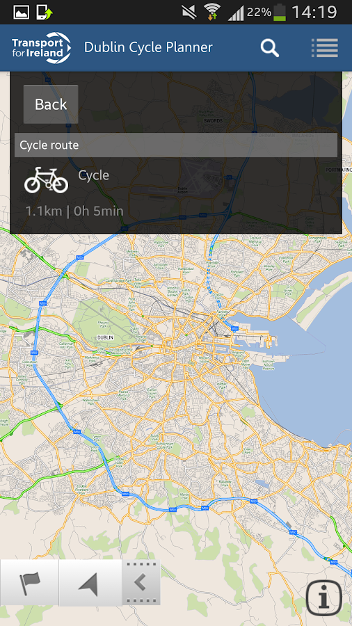 Cycle Journey Planner- screenshot