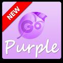 Purple GO Keyboard Theme icon