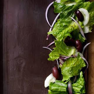 Tossed Green Salad.