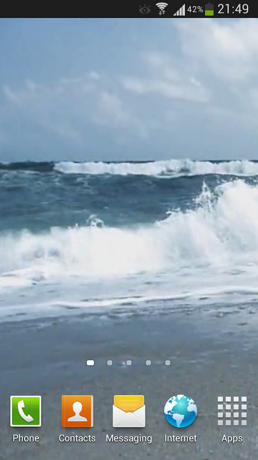Agitated Ocean Live Wallpaper- screenshot