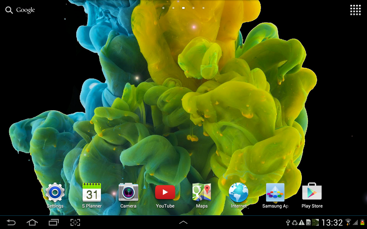 ink in water live wallpaper android apps on google play