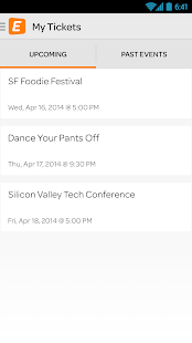Eventbrite - screenshot thumbnail