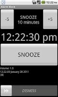 Screenshot of Alarm Klock