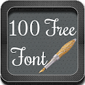 100 Free Font for Galaxy icon