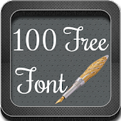 100 Free Font for Galaxy