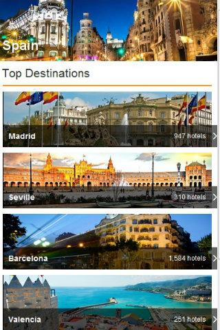 Spain Hotel Special 80% off - screenshot