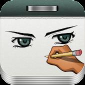 Como desenhar Anime Olhos