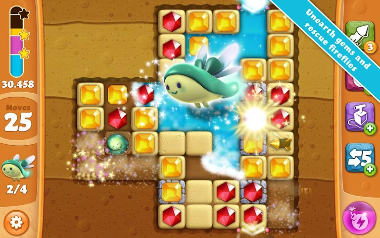 Screenshot 1 Diamond Digger Saga