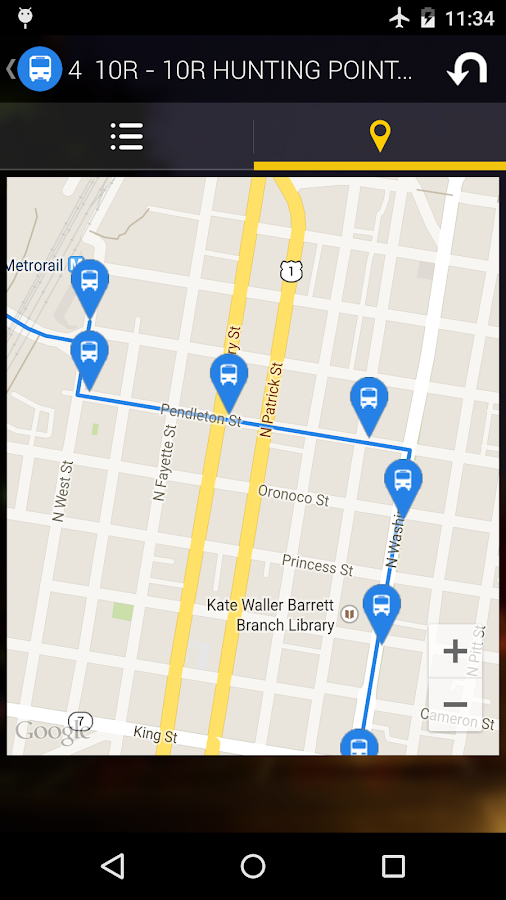Washington DC Moves: Bus Metro - screenshot
