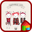 Shopper holic(Red check) Dodol icon