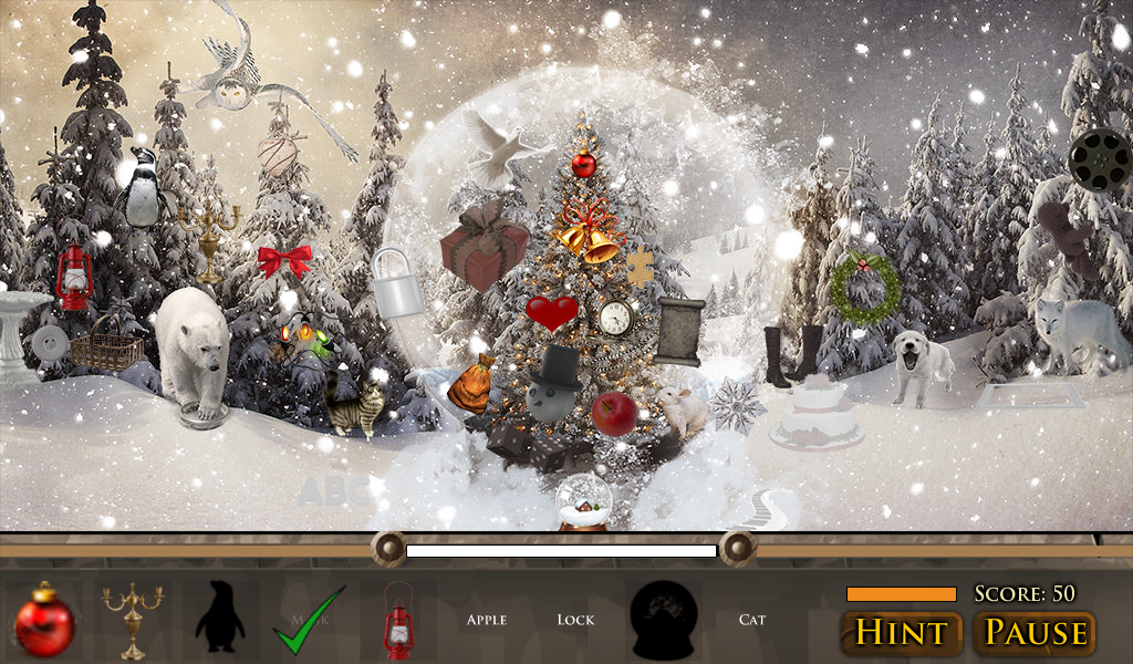 Hidden Object: Christmas Magic - screenshot