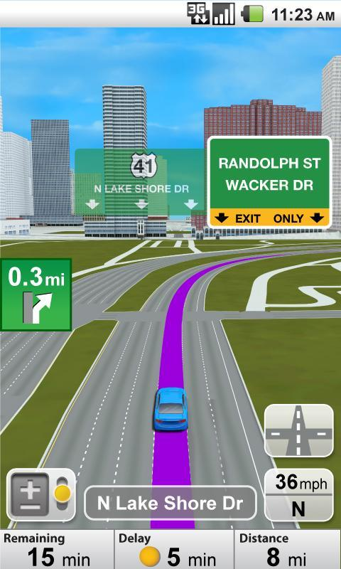 VZ Navigator for Moto Pro - screenshot