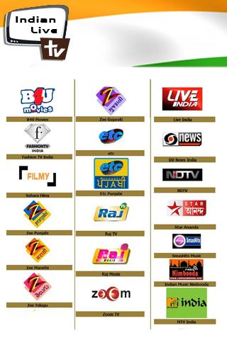 Live indian tv channels android app   Live Channels for