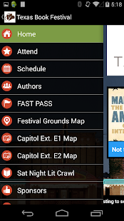 Texas Book Festival 2014 - screenshot thumbnail