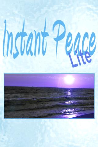 Instant Peace Lite- screenshot