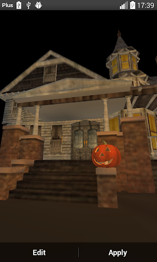 【免費個人化App】Halloween House 3D Wallpaper-APP點子