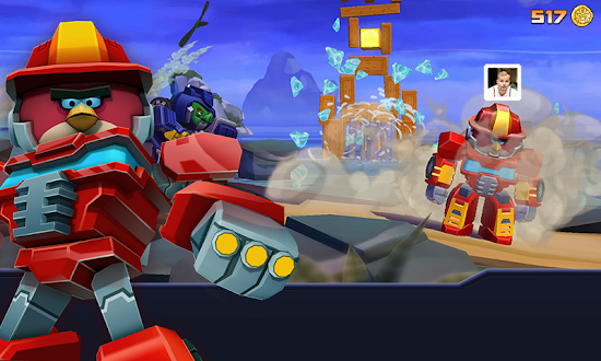 Angry Birds Transformers Gratis