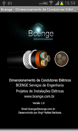 Cálculo - Condutores Elétricos 1.1 screenshot 1298946