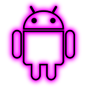 GloWorks Pink ADW Theme icon
