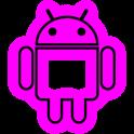 GloWorks Pink ADW Theme icon