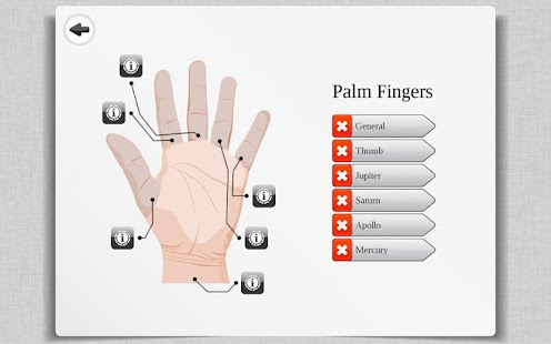 2018 Palm Reading Premium HD Screenshot