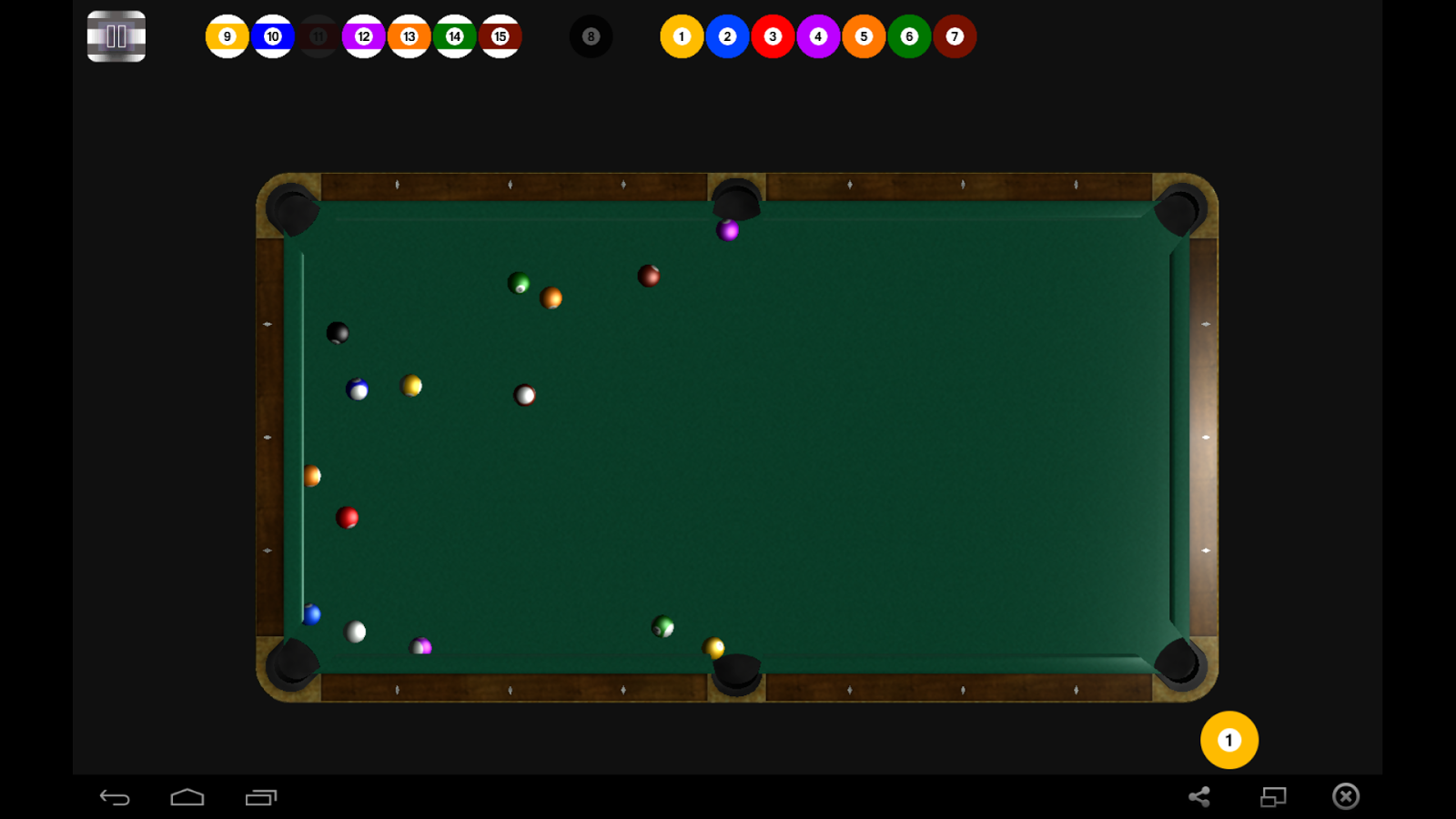 Pool Billiards- screenshot