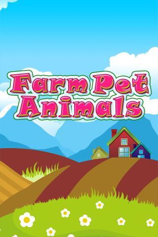 Farm Pet Animal Match for Kids