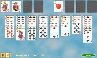 Screenshot of Free Cell Solitaire