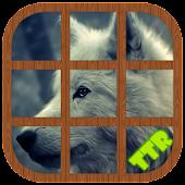 wolves Sliding Puzzle