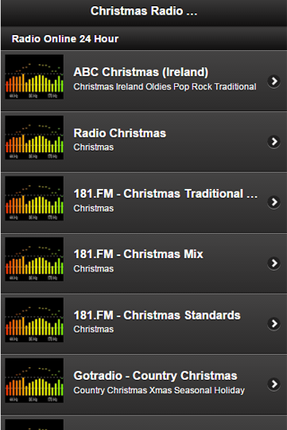 Christmas Radio Station