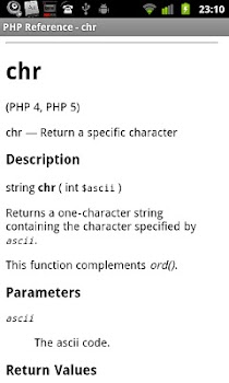 PHP Reference