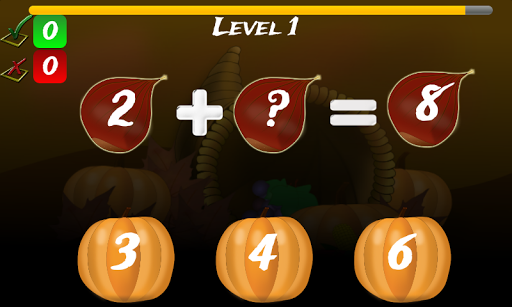 免費下載教育APP|Thanksgiving Games Math Free app開箱文|APP開箱王