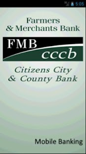 FMB/CCCB Mobile Banking - screenshot thumbnail