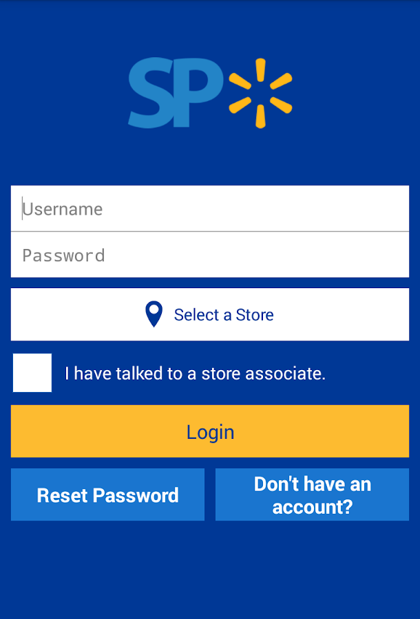 Walmart Supplier Portal- screenshot