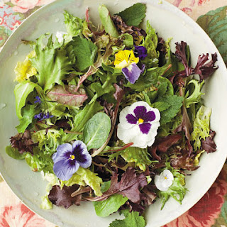 Greens of the Wilderness Salad