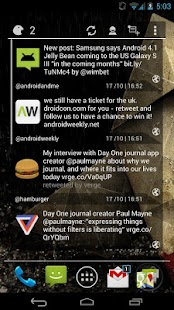 Falcon Widget (for Twitter) - screenshot thumbnail