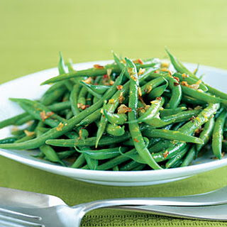 Green Beans with Citrus Vinaigrette