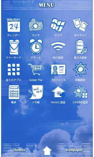 u7a7au58c1u7d19 BLUE SKY 1.1 Windows u7528 2