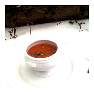 Fire Roasted Tomato Soup.