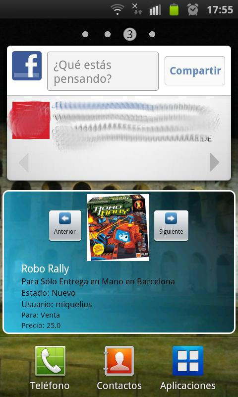 Widget para DiceMarket- screenshot