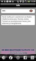 Screenshot of Radio Jyväskylä