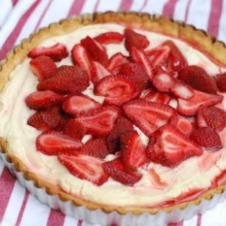Strawberry Lemon Cream Tart