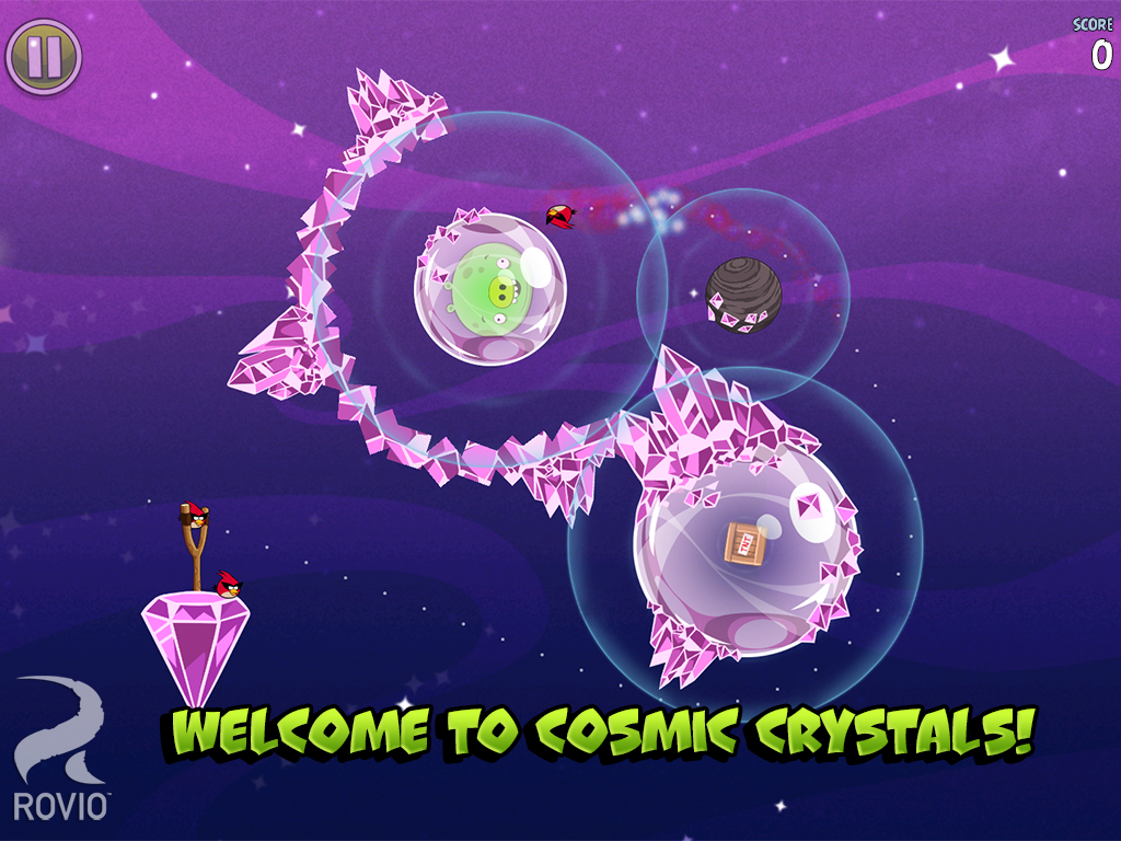 Angry Birds Space Premium - screenshot